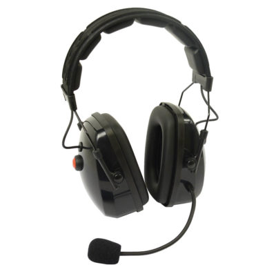 Koptelefoon voor 2 radio's ptt